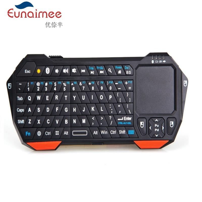 Mini clavier multi-fanction de rétro-éclairage Bluetooth sans fil - Périphériques d'ordinateur