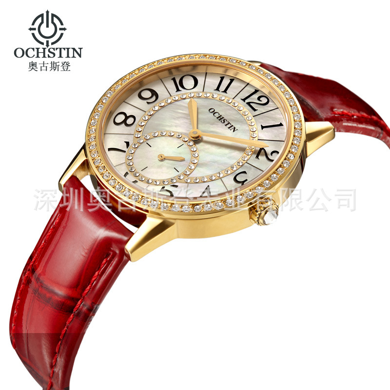 2018 Swiss Bracelet Watches For Women Business Casual Fashion With Diamond Counters High-Grade Leather Sapphire Steel Watch2018 Swiss Bracelet Watches For Women Business Casual Fashion With Diamond Counters High-Grade Leather Sapphire Steel Watch
