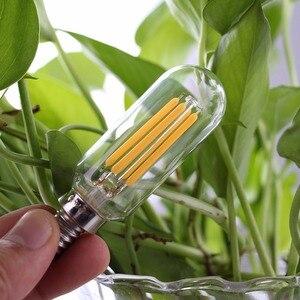 Image 5 - Grensk T8 2W 4W Âm Trần Đèn LED Bóng Đèn T25 Hình Ống Đài Phát Thanh Đèn LED Dây Tóc Bóng Đèn E12 110V E14 220V Trắng Ấm 2700K Đèn Ampoule LED