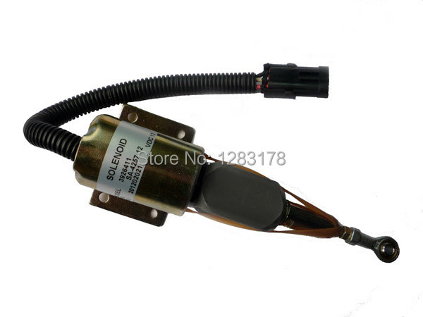 Fuel Shutdown Solenoid Valve 3926411,SA-4257-12 6CT