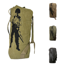 Men's Travel Backpack Luggage Military Day Pack Tactical Assault Pack Army Molle Bag Rucksack for Hiking Camping Hunting