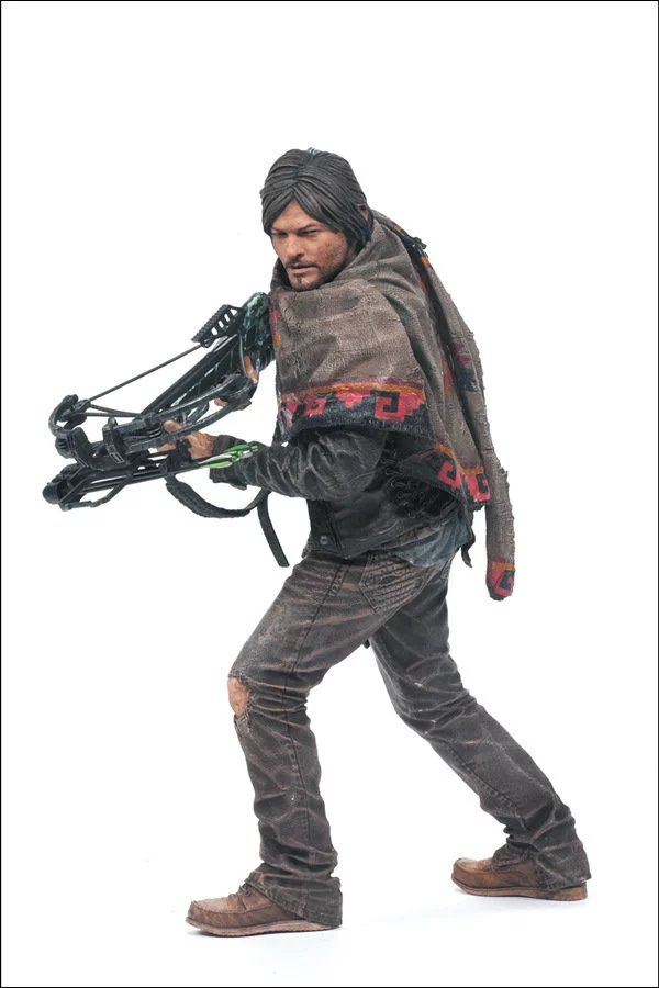The Walking Dead Daryl Dixon PVC Figure Collectible Model Toy 10inch 25cm tom dixon ваза