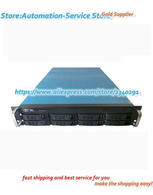 2U 8 disco intercambio en caliente Server Osaka Xeon doble chasis 2U de 6 GB Control de temperatura Fan