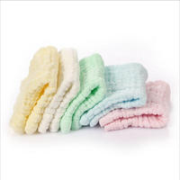 10 PCS 25 25CM 100 Cotton Soft Face Towels For Baby Children Bathroom Hand Towels Turban