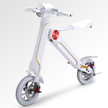 12″LEHE Electrical scooter Good metropolis strolling electrical bicycle mini folding  electrical bike as a substitute  strolling software 36v li-ion ebike