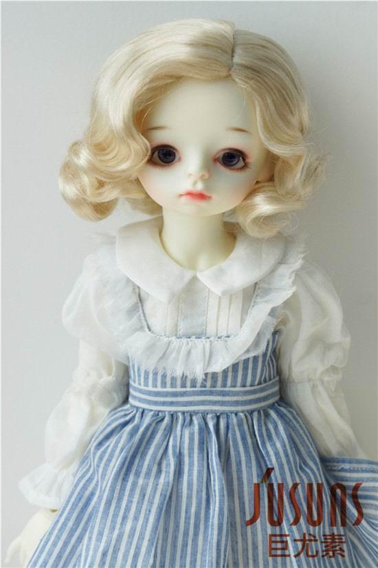 Kort Bobo perle til BJD Dolls 1/8 1/6 dukke perle, Syntetisk fiber - Dukker og utstoppede leker