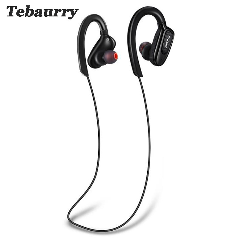 Tebaurry Bluetooth headphones wireless Headset sports bass bluetooth earphone with mic for phone iPhone xiaomi 8h music time kz headset storage box suitable for original headphones as gift to the customer