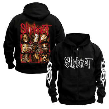 Bloodhoof SLIPKNOT Hoodie Heavy Metal Hard Rock Music Punk Tour Concert Black FREE SHIPPING  cotton hoodie Asian Size - DISCOUNT ITEM  0% OFF All Category