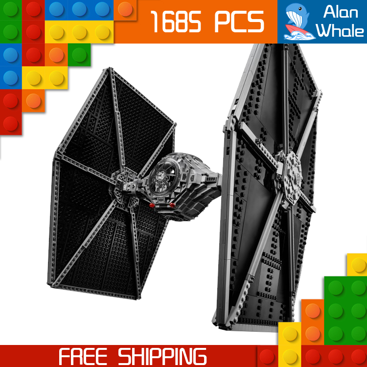 1685pcs Space Wars The Ultimate Collector Universe 05036 Tie Fighter Figure Building Blocks Toys Kit  Compatible with LegoING1685pcs Space Wars The Ultimate Collector Universe 05036 Tie Fighter Figure Building Blocks Toys Kit  Compatible with LegoING