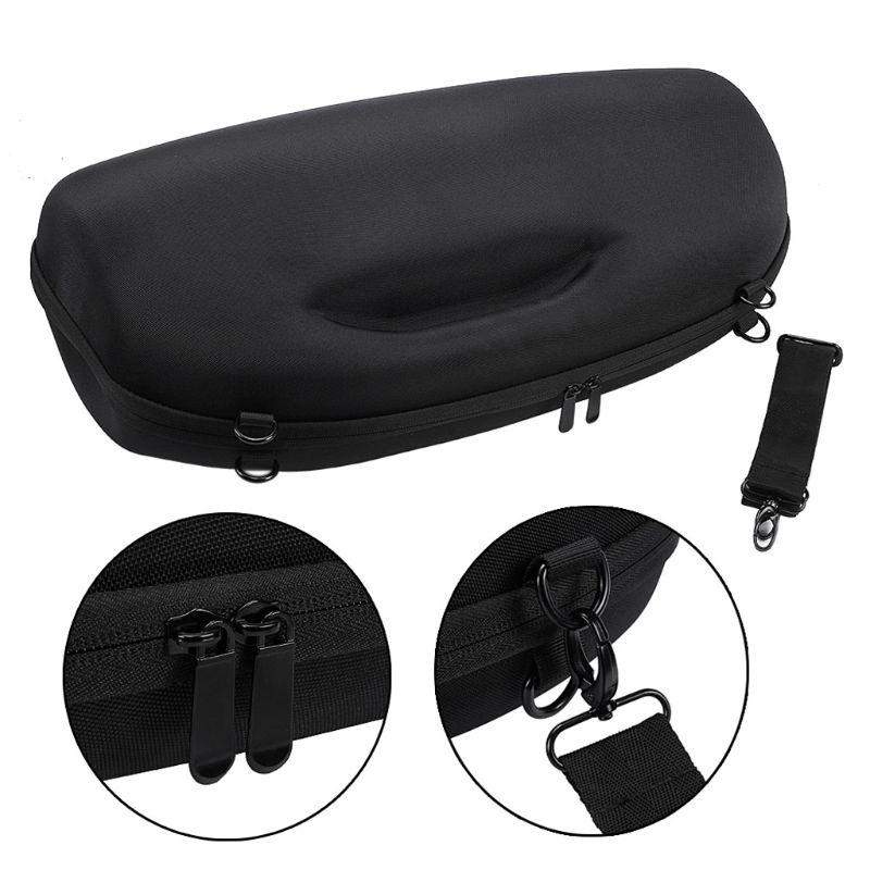 Portable voyage housse étui de transport sac avec bandoulière pour JBL Boombox Bluetooth sans fil haut-parleur et chargeur