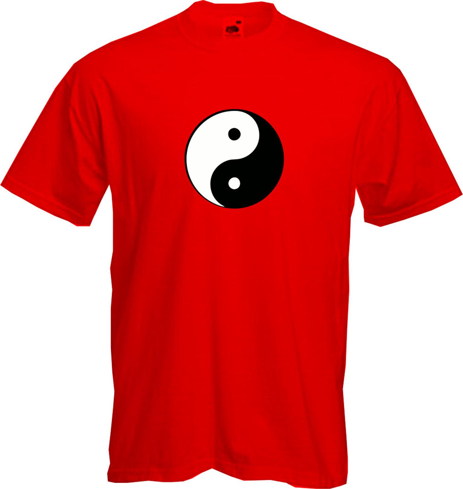 YIN YANG T Shirt Chinese Dark Light Retro Opposite Fun Cool Quality NEW New T Shirts Funny Tops Tee New Unisex Funny in T Shirts from Men 39 s Clothing
