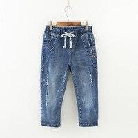 Summer Skinny Jeans Capris Women Calf Length Pants Denim Pants High Waist Women's Jeans Plus Size Female Short Jean For Woman