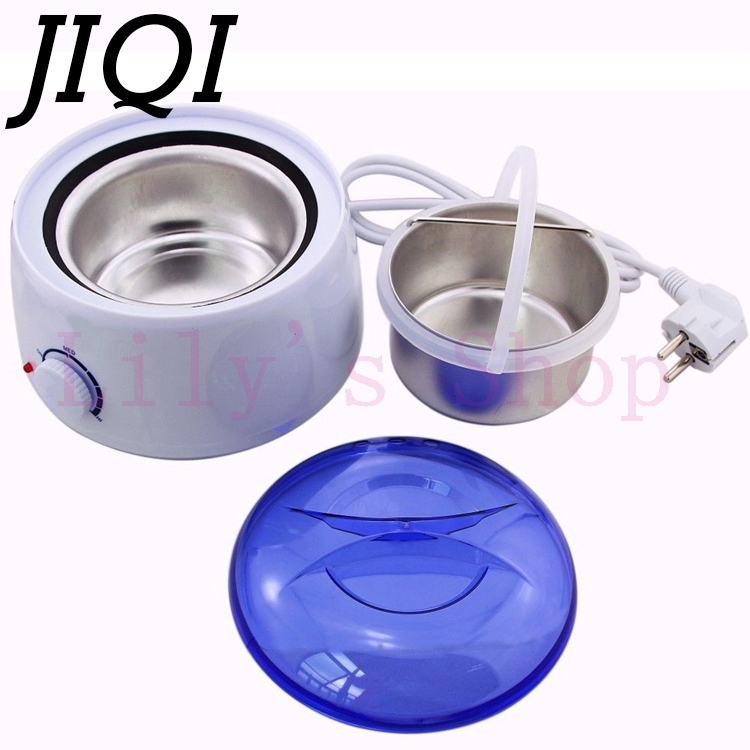 JIQI Electic <font><b>MINI</b></font> Waxing Heater Warmer woman Epilator Pot Body <font><b>lady</b></font> <font><b>Shaving</b></font> machine Female <font><b>Hair</b></font> <font><b>Remove</b></font> <font><b>Tool</b></font> 110V 220-240V EU US