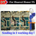 "High Quality Touch Screen Digitizer Touch Panel + LCD Display For Huawei Honor 5X Play 5X 5.5"" Cell Smart Phone With Frame"