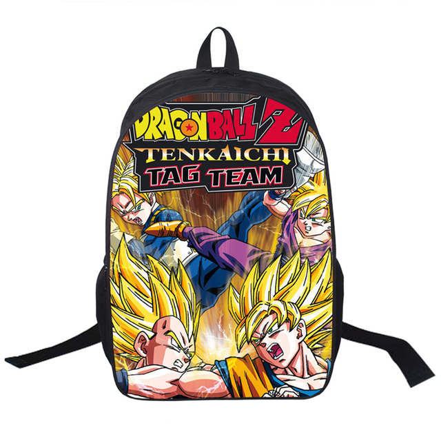 12 Dragon Ball Z Different BackPack Bag