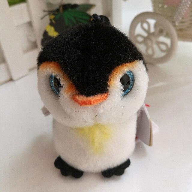 2fddf3c0021 Ty Beanie Boos Plush Toy Pongo Penguin Clip Small Pendant Cute Stuffed  Animal Doll Kids Gift Key Chain Bag Ornaments
