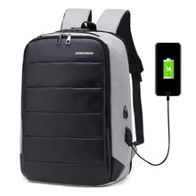 "New Men Travel Backpack Large Capacity Teenager Male Mochila Back Anti thief Bag USB Charging 17.2"" Laptop Backpack Waterproof"