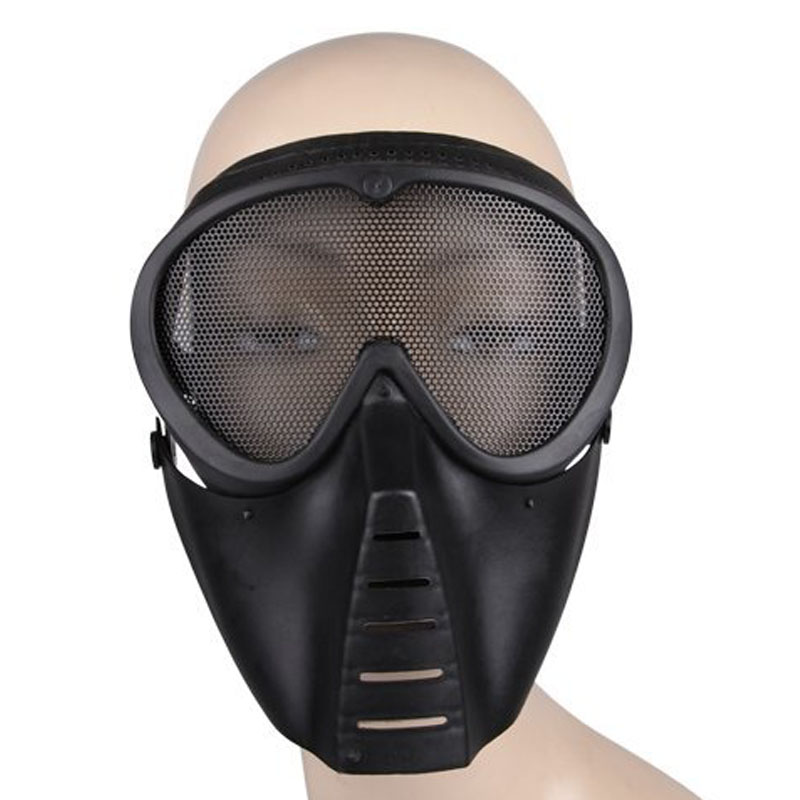 security Labour protective CS Outdoor Field Full Face Mask Protective Camouflage Breathable Shock Masks FC security labour protective mask equipment bicyle masks against the warm full face mask pirates of the caribbean dust mask fc