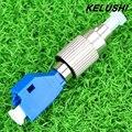 KELUSHI Alta Calidad de 2.5mm A 1.25mm Adaptador Híbrido LC FC, Adaptador de Fibra Óptica Monomodo Precio Al Por Mayor El Envío Libre