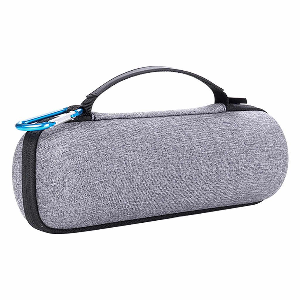EPULA przenośny twardy torba podróżna szary zamek do przechowywania skrzynki pokrywa dla JBL Flip 3 4 głośnik bluetooth na świeżym powietrzu 240 x 80x80mm