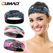 Outdoor Sport Bike Fitness Headband Cycling Running Workout Jogging Tennis Yoga Gym Sweatband Headscarf Hair Band Men Women Girl(China)