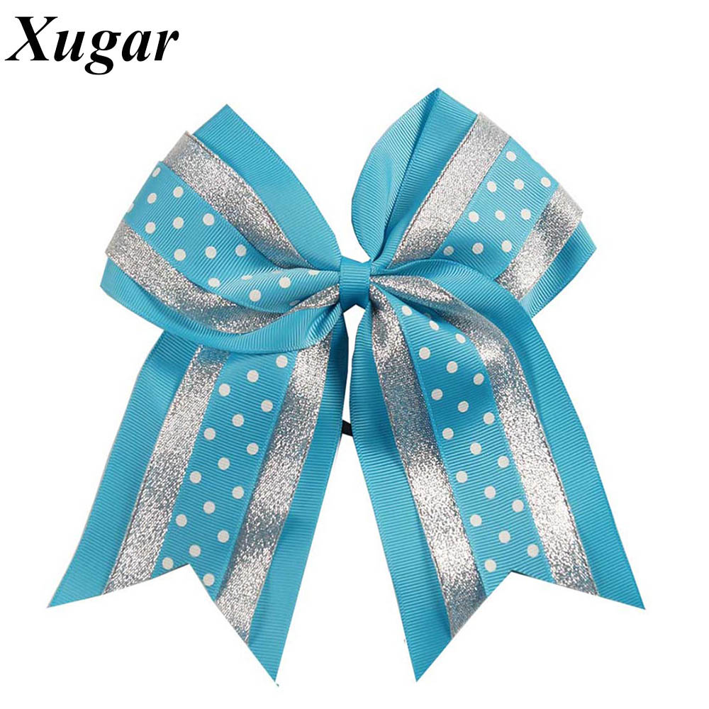 8 High Quality Large Grosgrain Ribbon Cheer Bow Sweet