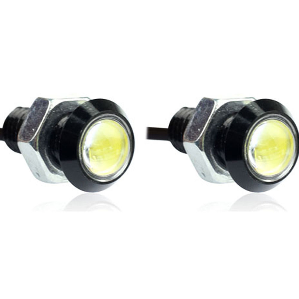 EE support 2Pcs 23mm LED Eagle Eye Light Daytime Running DRL Tail Backup  Light Car Motor XY01-in Signal Lamp from Automobiles & Motorcycles on