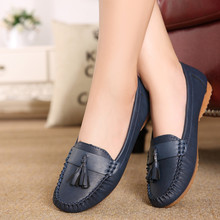 New fashion tassels soft bottom women flats shoes