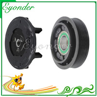 A/C Air Conditioning Compressor Electromagnetic Clutch 6SEL14C 7PK for Renault GRAN TOUR 1.9 2.0 GRAND SCENIC III 1.9 8200956574