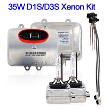 SKYJOYCE najlepszy 35W 4300K 6000K reflektor samochodowy zestaw żarówek Xenon D1S ukrył ksenonowe statecznik 5DV00900000 D3S oryginalny ksenonowe światło zamiennik
