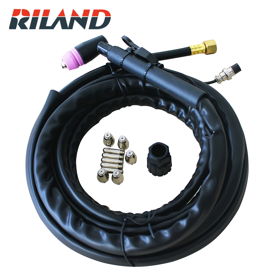 RILAND  Cutting Torch  Set Plasma Cutting Welding  Torch With Consumables Plasma Machine Torch SG-55 4M Cut 40 60 LGK 40 60 цена и фото