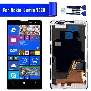 LCD Original para Nokia Lumia 1020 reemplazo de pantalla para NOKIA 1020 Módulo de pantalla LCD de pantalla