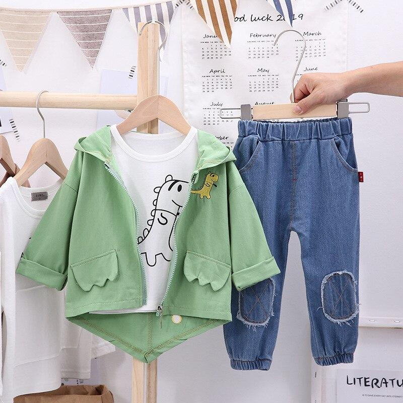 Hot Deal #1bef 2020 Autumn Children Kid Clothes Suit Baby