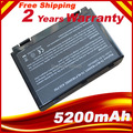 6Cell Battery for ASUS K50ij K50AD K50C K50AB K50AF X8AAF K70AB Laptop 5200mAh,6 Cells,Free