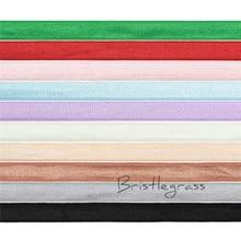 GOYIBA 5 Yard 3/8 10mm Solid Color Spandex Satin Band Non-foldover Elastic Headband Bra Strap Dress Lace Trim DIY Sewing Notion