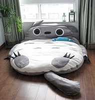 1,8x2,5 м большой размер дизайн Европейская милая мягкая кровать Тоторо спальная кровать спальный мешок диван 100% хлопок Горячая в Японии и Кан...