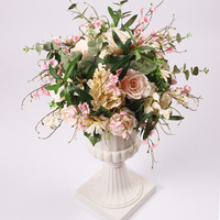 Artificial Flowers Ball Column Stand Pillar Road Lead Columns Wedding Table Centerpieces Rack Event Party T Station Decoration