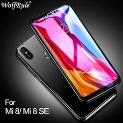 Xiao mi mi 8 szkło pełna pokrywa szkło hartowane dla Xiao mi mi 8 SE osłona ekranu 3D zakrzywiona krawędź telefon szkło dla Xiao mi mi 8 5 6