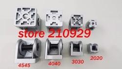 50pcs/pack 4040 movable hinge fixed angle support rotation range 180 degree aluminium