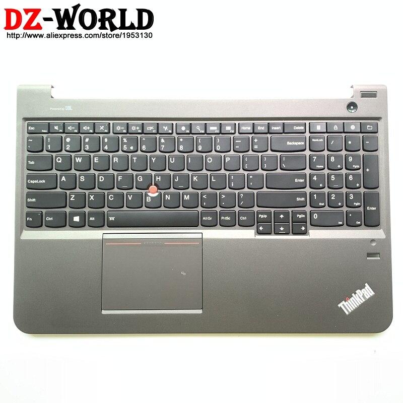 Nouveau clavier Original US USI anglais rétro-éclairé avec pavé tactile Palmrest NFC pour Thinkpad S5-S531 S5-S540 Teclado 04X5056 04X5093