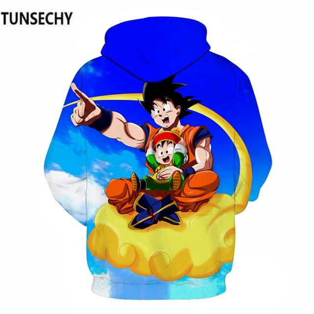 TUNSECHY Dragonball hoodies for men and women with dragonball sun wukong 3D digital printing fashion Hoodies Sweatshirts 3