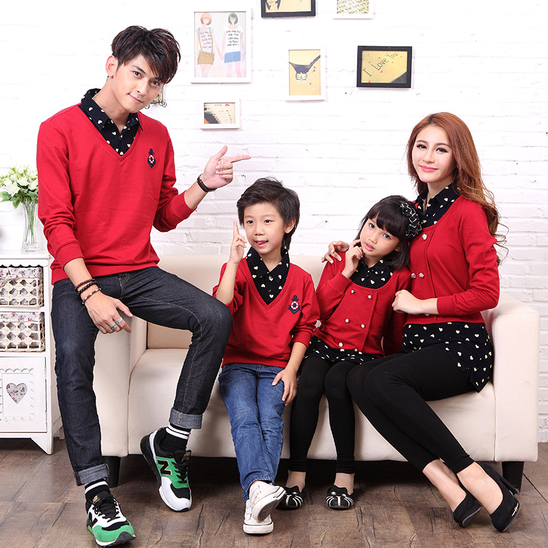 2014 korean fashion autumn for a family of three parent child attire in clothing sets from mother kids on aliexpress com alibaba group