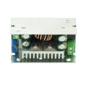Image 4 - DC 60V 15A 200W DC DC 8 55V כדי 1 36V צעד למטה ממיר באק מודול מתכוונן מתח רגולטור אספקת חשמל מודול עם מקרה