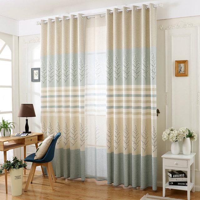 2017 moderno fresco lino prugna fiore tenda soggiorno/camera da ...