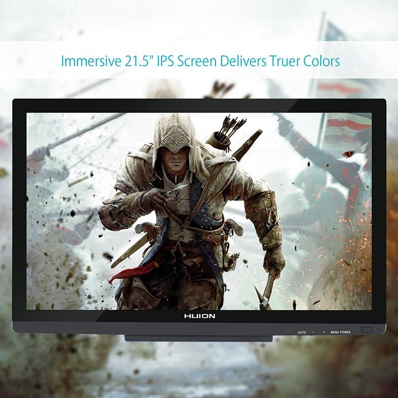 """Huion GT-220 V2 21,"""" ручка планшет монитор Цифровой Рисование монитор сенсорный экран монитор Интерактивная ручка дисплей HD ips ЖК-монитор"""