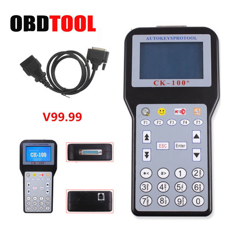 V99.99 CK-100 Car Key Programmer Multi-language CK 100 Auto OBD2 Key Transponder New Generation of the SBB Key Prog JC5
