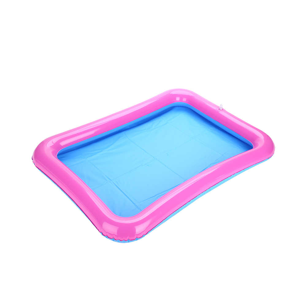 60*45cm Indoor Magic Play Sand Table Children Toys Mars Space Inflatable Sand Tray Accessories Plastic Mobile Table