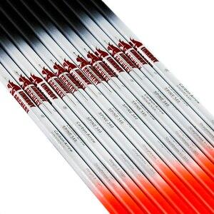 Image 3 - 12 adet Linkboy okçuluk karbon ok sp500 32 inç türkiye tüy hedef noktası 75gr ipuçları Nock geleneksel Longbow yay avcılık