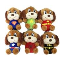 12 cm x 30 adet Peluş Marvel'in Köpek Sevimli Perro Kolye Dolması Bebekler Oyuncaklar anahtarlık/telefon/Çanta