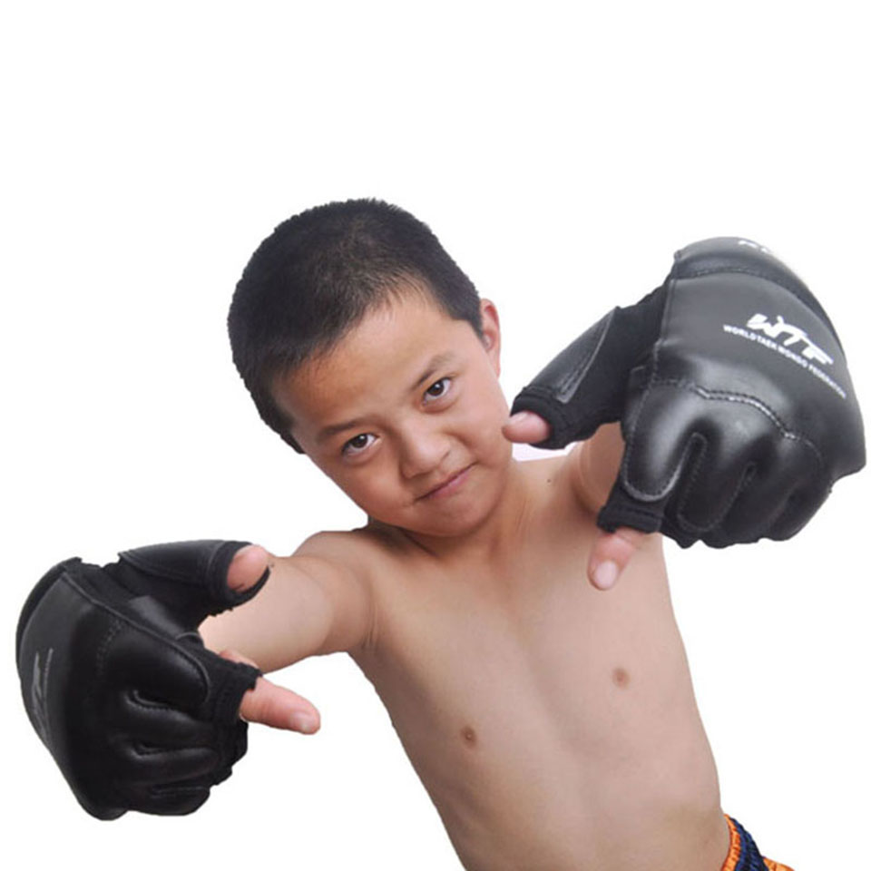 дети половина палец перчатки мужчин боксеры